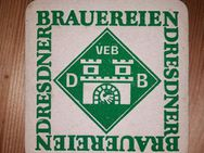 VEB DB Dresdner Brauereien Bierdeckel BD DDR - Nürnberg