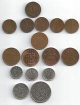 Münzen Niederlande 1916 bis 1984
