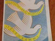 Schmuckblatt Telegramm Deutsche Reichspost Lx2, B. Senger / Selten Sammler - Zeuthen