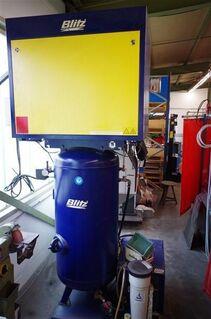 gebrauchter BLITZ Kompressor komplett auf Grundplatte geschraubt - Weinbach