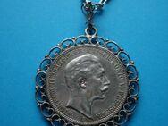 Silbermünze 1911 als Halskette eingefasst - Spaichingen