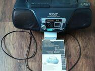 Tragbarer Radio-, CD-, Cassettenplayer von Sharp - Braunschweig