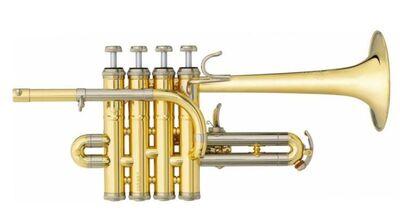 B & S Challenger II Profiklasse - Piccolo - Trompete 3131/2 - L NEUWARE - Hagenburg
