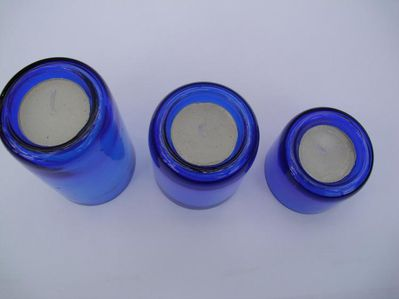 Kerzenhalter blau - Saarbrücken