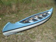 Kanu 5er Kanadier 550 Neu ! in hellblau /weiß - Galenbeck