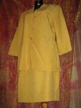 """NEU * Apart * edel * Leinen * Kostüm """"Blacky Dress"""" Gr. 40- 42/ M * sonnen- senf- mais- gelb *"""