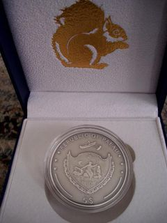 Erdhörnchen  5 Dollarmünze, Palau - Osnabrück