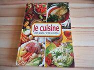 Kochbuch: Je cuisine 365 jours / 730 recettes, Edition 1992 - Bochum