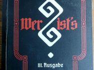 Wer ist`s ? III. Ausgabe von 1908 - Niederfischbach