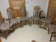 6 Esstisch-Stühle zu verkaufen. - Frauenberg