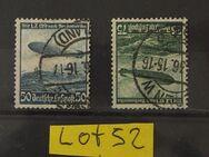Deutsches Reich Flugpost Hindenburg 1936-1938Mi.Nr.696,607,Lot 52