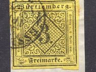 AD-Würtemberg 3Kreuzer,1851,MI:DE 2,  Lot 543
