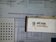 Zusatzruf Videx ART. 512A  45Ohm neu in OVP - Berlin Friedrichshain-Kreuzberg