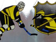 Fensterbild Eishockeyspieler - Krefeld