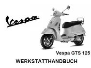 Werkstatthandbuch (WHB) Piaggio (Vespa) GTS 125 cm³ 4 Takter - Bochum