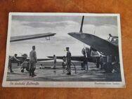 Postkarte Die deutsche  Maschinen beim Tanken / 2.WK Feldpostkarte - Zeuthen