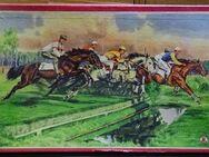 Pferdewettrennen Karl Riedel Leipzig  1944 original - Spraitbach