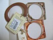 REPLAY, Schmuck, Armrief 3er Set, Orange Grau, 6,5cm Durchmesser, UVP: 49€ - Düsseldorf