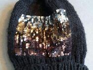 Mütze mit Metallic-Pailletten - Dortmund Aplerbeck