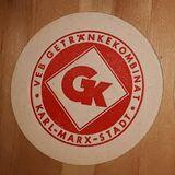 Getränkekombinat GK Karl Marx Stadt  Bierdeckel BD