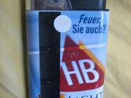 HB Light Verkaufshülse für Feuerzeuge; Reklame; Werbeartikel - Bad Belzig Zentrum