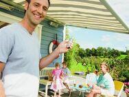 Markise für Ihre Terrasse Sonnen - und Windschutz - Schwerin