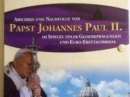 Abschied + Nachfolge Papst Joh. Paul II (Vatikan), Gedenkprägungen, Ersttagsbriefe. - Rees