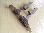 2 x Stück Slotblenden D-SUB-Stecker 9 polig und D-SUB-Stecker 25 polig - Verden (Aller)