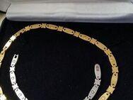 NEU Edelstahl Set Schmuckset Armband und Collier als Set mit Magneten - Fulda