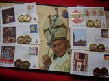 Vatikan 2005 - Abschied und Nachfolge des hl. Papstes Johannes Paul II.- Kollektion