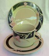 Kaffeeservice Mandarin mit schönem, zeitlosem Dekor