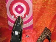 "NEU mit Original- Karton * Sexy * edel * Animal * Leo * High-Heels * Stilettos * Pumps * Schuhe ""AKIRA"" Gr. 40/ 7 * braun- Töne * - Riedlingen"
