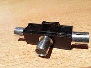1 x Antennen-Verteiler Koax-Kupplung,2 Koax-Stecker T-Y-Antennen Weiche - Verden (Aller) Zentrum