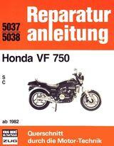 Reparaturanleitung Honda VF 750 ab 1982