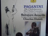 PAGANINI - Salvatore Accardo - Die 6 Violinkonzerte (5 LPs) - Groß Gerau