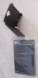 1 original  Flip cover Schutzhülle + 1 Displayschutzfolie für WIKO DARKNIGHT, unbenutzt - Stuttgart