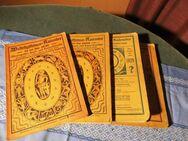 4 antike astrologische Bücher / Weltrhytmuskalender / astrologischer Kalender - Zeuthen