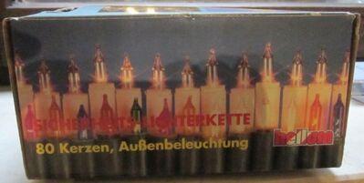 Weihnachts-Deko-Artikel + Sicherheits-Aussenlichter-Kette - München
