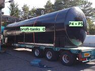 P5 gebrauchter 50.000 L Stahltank doppelwandig oberirdisch AHL/ASL beschichtet Gülletank Chemietank