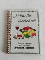 """Kochbuch REZEPTE AUS DEM MÜNSTERLAND """"Schnelle Gerichte"""""""