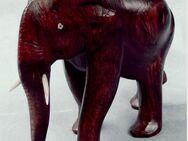kleiner afrikanischer Holz-Elefant - ca. 12 x 10 x 6 cm Größe - Groß Gerau