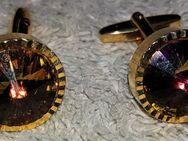 Herren Vintage-Manschettenknöpfe aus den 70er Jahren Gold-Double - Verden (Aller)