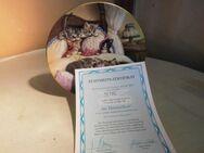 KAHLA Porzellan Sammelteller Im Himmelbett mit Zertifikat, 1994 / Teller - Zeuthen