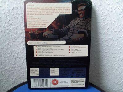 Die Totale Erinnerung - Total Recall Steelbook UK mit Deutschem Ton NEU Erstauflage ! - Kassel