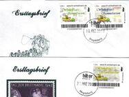 """Biberpost: """"Winkelfred's"""", Satz, FDC - Brandenburg (Havel)"""