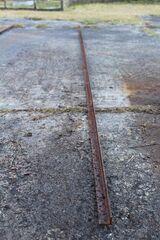 Stahlträger, Eisen, L-Profil, L-Träger; 365cm lang, Schenkelbreite 25mm