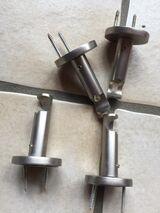 Gardinenbefestigung für 2 Vorhänge zum Dübeln