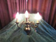 3armiger Wandleuchter / Messingleuchter / Leuchter im Antikdesign / Lampe - Zeuthen