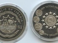 Vatikan Liberia  5 Dollars 2002,Lot 48