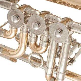 J. Scherzer Konzert - Trompete, Modell 8211 Goldmessing. NEUWARE - Hagenburg
